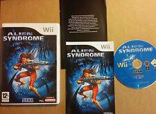 ALIEN SYNDROME pour Nintendo Wii