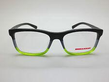 NEW PRADA SPORT VPS 05F-F TWU-1O1 Matte Black-Grey-Green 55mm Rx Eyeglasses