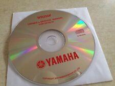 Yamaha WR250F WR250 F WR 250 2008 Taller manual de CD pdf
