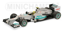 Mercedes AMG F1 Team ROSBERG 2012 1st Win China, Minichamp 110120108 1/18th
