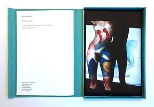 """Renate Kordon – """"Kleider aus Licht"""". Editionsmappe mit 12 Prints"""
