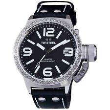 TW STEEL Canteen 45mm Swarovski Crystal Watch TW37 - RRP £295 - BRAND NEW