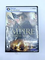 Empire Total War PC Game for Windows  - 2 disc - Rated T - complete