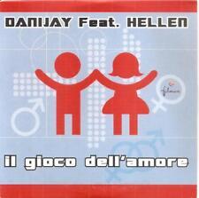 DANIJAY FEAT. HELLEN - IL GIOCO DELL'AMORE CD SINGLE 3 TRACKS  PROMO SPAIN