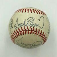 1988 Baltimore Orioles Team Signed Baseball Cal Ripken Jr Frank Robinson PSA DNA
