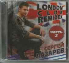 CD -Sergey Lazarev-London club remexis Part 2-Eurovision 2016 -new & sealed  -CD