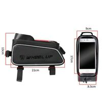 21*9*13cm Outdoor Bike Saddle Bag Cycling Seat Storage Bicycle Tail Rear Pouch