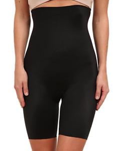 Spanx Slimplicity Black High Waist Slimming Shorts Shapewear BNWT Size 1X 16 18
