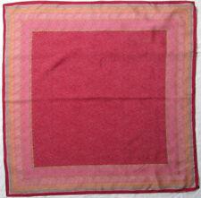 -Superbe foulard VALENTINO  soie   TBEG vintage scarf 87 x 87 cm