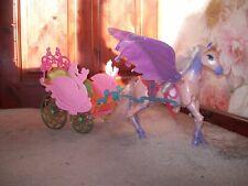 """Barbie """"The Magic of Pegasus"""" Horse & Carriage (Mattel 2003)"""