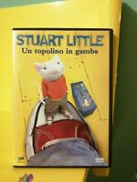 DVD Stuart Little UN TOPOLINO IN GAMBA COME NUOVO