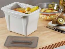Wesco Kitchen Box Bio Mülleimer kleiner Abfalleimer für Reste und Tischabfall