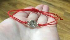 Ohm,Om,Aum,Meditation/Yoga charm bracelet Adjustable