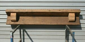 Reclaimed Pine Floating  Mantle Fire Place Shelf  Mantel Piece Beam