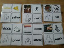 Set of 39 communication cards Makaton/SEN /Autism/PECS