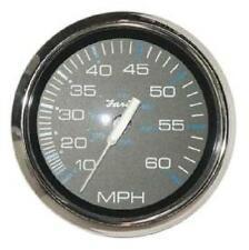 Speedometer 60 Mph Faria Marine Chesapeake Black Ss Se9509 4 Inch Far33704