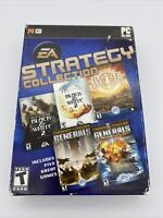 EA Strategy Collection (Windows PC, 2006) 5 Games BATTLE FOR MIDDLE EARTH - MORE
