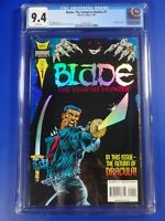 CGC Comic graded 9.4  marvel Blade #1 1st Blade solo  low print key