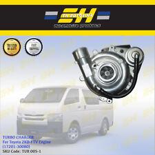 Turbo Charger For Toyota Hiace Quantum KDH200 2KD-FTV 2.5L (17201-30080)