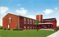 Cleveland Ohio~Hayden Avenue Baptist Church~1960 Postcard