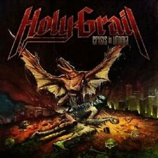 "HOLY GRAIL ""CRISIS IN UTOPIA"" CD HEAVY METAL NEU"
