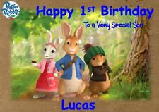personalised birthday card Peter the Rabbit any name/age/relation.