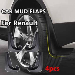 Universal Mud Flaps For Renault Megane Kwid Captur Clio Splash Guards Mudguard
