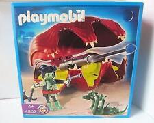 Playmobil Pirata fantasma, cañón de concha de almeja, 3 cabezas Serpiente Set 4802 Nuevo Sellado
