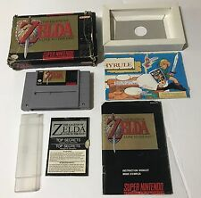 The Legend of Zelda A Link to the Past Super Nintendo Snes 100% Working Original
