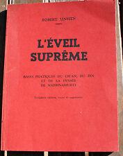 SPIRITISME/L'EVEIL SUPREME/CH'AN/ZEN/PENSEE DE KRISHNAMURTI/R.LINSSEN/1970