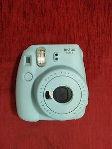 Fuji Fujifilm Instax Mini 9 Instant Camera Baby Blue