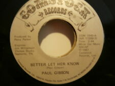 "paul gibson""better let her know""sgle7""or.usa:comstock:com1940/nr18209 de 1987"