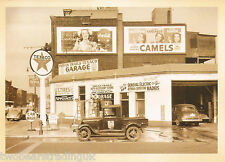 Postcard: Indian Trails Texaco Garage, Benton Harbor, Michigan, July 1940 (2014)