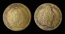 Louis XIV Le Roi Soleil 1678 - Laiton - F12680 variante visage