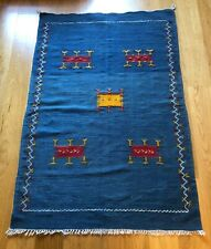 Moroccan Family Rug Hand Made And Rare ( Sold At Timothy Oulton)