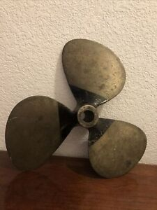 Vintage Brass RP Boat Propeller 387 36 148 Dp14p I Dont Know Anthing