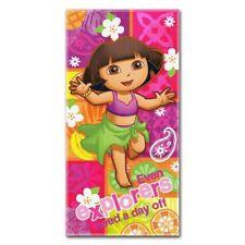 Dora the Explorer Nick Jr Summer Salsa 30x60 Fiber Reactive Cotton Beach Towel