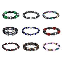 Bracelet Magnetic Therapy Stone Hematite Weight Loss Health Care Beads Healing