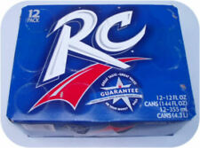 12 pack of RC Cola Cans Royal Crown soft soda pop drink