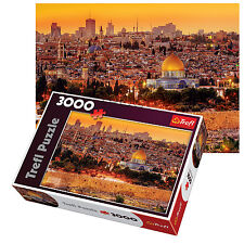 Trefl 3000 Pièce adulte Grand Jerusalem Toits Vue Israël Sainte PUZZLE NEUF