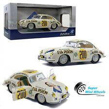 Solido 1:18 - 1953 Porsche 356 Eva Peron (White) - Diecast Model