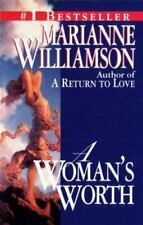 A Woman's Worth, Marianne Williamson, Good Condition, Book