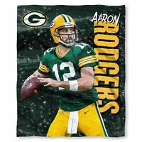 "Green Bay Packers Aaron Rodgers 50"" x 60"" Silk Touch Throw Blanket"