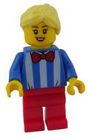 Lego Eisverkäuferin Frau Minifigur City cty1139 Figur Town Eis Verkäuferin Neu