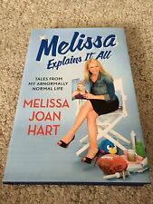 Melissa Joan Hart Explain it all Tales from my Life book COA SIGNED AUTOGRAPHED