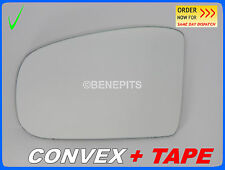 MERCEDES ML W164 2005-2008 Wing Mirror Glass CONVEX + TAPE Left Side /381