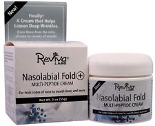 Reviva Labs High Potency Nasolabial Fold Multi-Peptide Anti-Wrinkle Cream 2 oz.