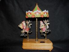 Willitts Carousel Christmas Music Box - Limited Edition 1987 - Rare Collectable
