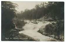 Perthshire; Falls of Tummel, Pitlochry RP PPC, Local 1922 PMK to Arundel