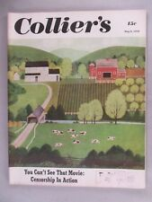 "Collier's Magazine - May 6, 1950 ~~ Ray Bradbury ""There Will Come Soft Rains"""